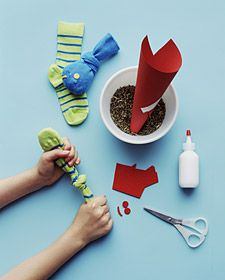 Sock Fish Catnip Toy. I'm making all DIY gifts this year, including toys for my furbabies.