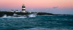 Sunset over the worlds oldest operational lighthouse. Hook Head Wexford Ireland.