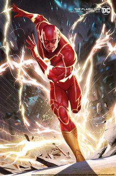 The Flash by Lee InHyuk #dc #dcuniverse #flash Flash Comics, Arte Dc Comics, Cat Comics, Marvel Comics, Marvel Vs, Comic Books Art, Book Art, Flash Wallpaper, Thor Wallpaper