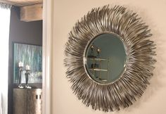 Mirrors, Decorative Mirrors... Their color photos are SO much better than the catalog photos.  www.FramedArtExpert.com/clients.html