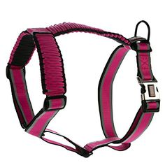 KONG Reflective Paracord Harness Pink LARGE *** Check this awesome product by going to the link at the image.(This is an Amazon affiliate link and I receive a commission for the sales)