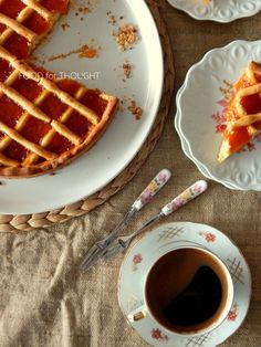 Food for thought: Πάστα φλώρα Greek Cookies, Greek Recipes, Cooking Time, Food For Thought, Flora, Waffles, Pasta, Breakfast, Sweet