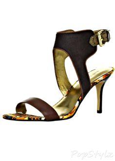 Nine West Getreel Leather Sandal