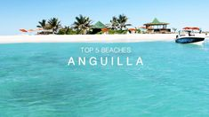 Top 5 Beaches in Anguilla — beachbox Best Vacations, Vacation Destinations, Vacation Spots, Tropical Vacations, Tropical Beaches, Vacation Places, New Travel, Travel Goals, Travel Tips