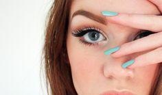 Make eyes appear larger