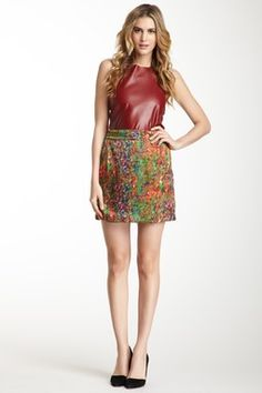 Bella Print Skirt on Hautelook