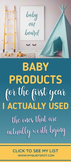 These are the baby products that were must have for me. Check out my list of practical and life saving products for newborns and babies up to 1 year. | baby products must have | newborn products to buy | first time mom baby products | #myquietspot