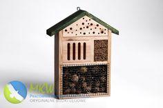 Budka dla owadów pożytecznych typ hotel dla zapylaczy
