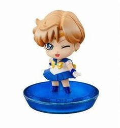Bishoujo Senshi Sailor Moon - Sailor Uranus - Petit Chara! Series Bishoujo Senshi Sailor Moon Atarashii Nakama to Henshin yo! Hen - Petit Chara! Series (MegaHouse)