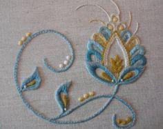 Printemps mixte Kit broderie de fil de tapisserie