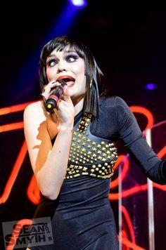 Photo of songstress, Jessie J, at a gig in the Academy, Dublin Jessie J Singer, Concert, Dublin, Music, Photography, Musica, Musik, Photograph, Fotografie