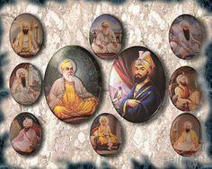 Ten Sikh Guru Sahab