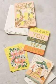 Every Occasion Cards   Anthropologie
