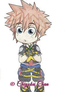 Chibi Sora Kingdom Hearts