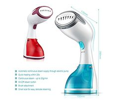 Dragon 1200 Watt Travel Garment Steamer, Handheld Portable Clothes Steamer Perfect for Travel, Mega-fast Heating Element for all Fabric - Uk Appliances Direct Iron Steamer, Clothes Steamer, Heating Element, Home Decor Furniture, Martini, Dragon, Steamers, Fabric, Cooking Recipes