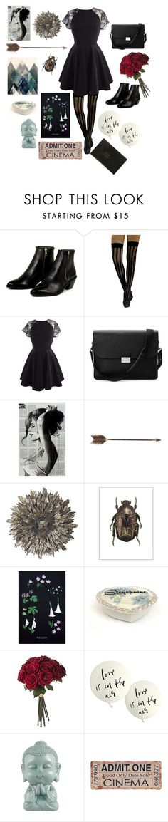"""""""radio tastes like you"""" by uchupal ❤ liked on Polyvore featuring AZI, Aspinal of London, Creative Co-op, Amara, Kate Spade, Smythson, women's clothing, women, female and woman"""