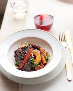 Passover Seder Recipes from MarthaStewart.com (22 recipes), including Charoset-Braised Short Ribs