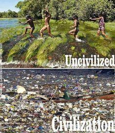 Uncivilized vs. Civilization