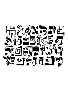 Josh Baum- Image of Imaginary alphabet