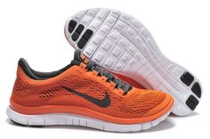 Mens Nike Free 3.0 V5 Orange Black