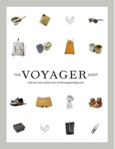 Design Work Life » Student Work: Amber Asay: The Voyager Shop