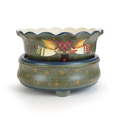 Ceramic Stoneware Electric 2 in 1 Candle Warmer (Angels) -- More info could be found at the image url. (This is an affiliate link) #HomeFragrance