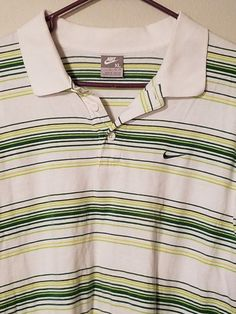 Mens Nike Size XL Short Sleeve Polo Shirt #Nike #PoloRugby
