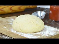 Masa de pizza casera ¡Sin complicaciones! Cómo hacer masa e pizza en casa, paso a paso con vídeo Super Pizza, European Cuisine, Empanadas, Lunches And Dinners, Deli, Cooking Recipes, Bread, Cheese, Chocolate