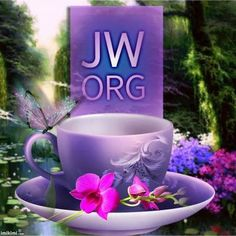 This pic combines two of my favorite things... Tea, and JW.org