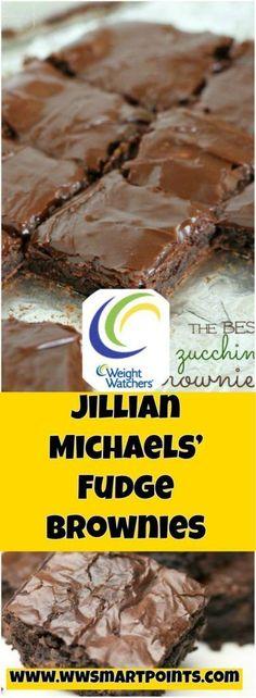 Jillian Michaels' Fudge Brownies 4 weight watchers smartpoints   free smart points recipes