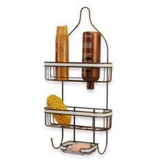 Accent Shower Caddy   BedBathandBeyond.com