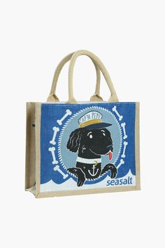 Captain Pepe or the Ahoy There jute bags are my favourites - for the sailor!