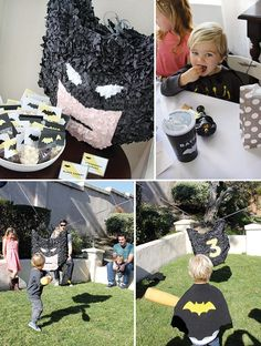 DIY Batman piñata