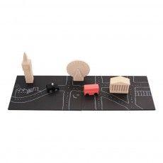 Magnet-Holzspielzeug Machi Londres