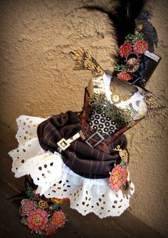 steampunk spell dressform