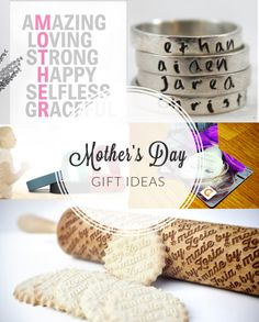 Mother 39 s day gift ideas on pinterest homemade gifts for for Gift ideas for mom who has everything