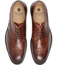 Hudson London is an East London shoe brand for men and women. Our timeless footwear is made from quality leathers and feature our unique hand-finishes and washing techniques. Mens Wingtip Shoes, Brogue Shoe, Brogues, Me Too Shoes, Men's Shoes, Shoe Boots, Hudson London, Brown Dress Shoes, Monk Strap Shoes