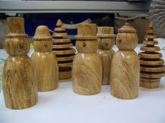 wood turning christmas | any early batch from 2004,,,