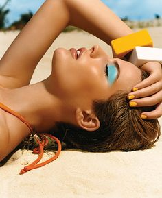 Waterproof products are key for summer -- as temperatures heat up, everything stays in place.