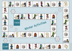 "Ideenreise: Spielfeld ""Winter Activities"""