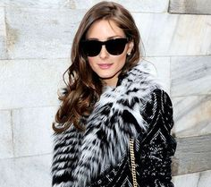 Olivia Palermo in a thin stripe Popsicle. Charlotte Simone strikes again! :)