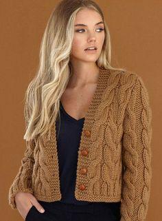 Knitting Patterns Cardigan Alpaka – we knit beautiful things. Knit Cardigan Pattern, Chunky Knit Cardigan, Crochet Cardigan, Knit Crochet, Grey Sweater, Chunky Knitting Patterns, Knitting Designs, Knit Patterns, Big Wool