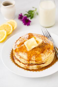 Lemon Ricotta Pancakes | 21 Pancakes That Will Make You Want Breakfast For Every Meal