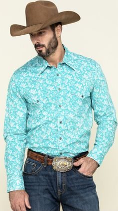 Western Shirts, Western Wear, Future Goals, Get Directions, Lei, Real Men, Paisley Print, Rock And Roll, Westerns