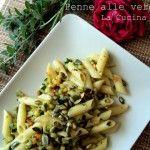 Penne alle verdure al profumo di  erbe aromatiche