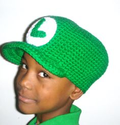 This cap pattern has tons of variations. Wear it plain, add stripes, add a flower for a feminine touch. Kids and even adults may like to have a Mario and/or Luigi cap, or have their initial on the front. You can even omit the visor.You're only limited by your imagination!This cap is perf...