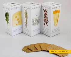 the-orchard-at-8: (ザ・ファインチーズカンパニー - Hand in Hand... Beautiful cracker #packaging PD