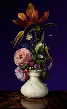Bas Meeuws, Untitled ( C-Print on Dibond behind acrylic © Bas Meeuws Bas Meeuws (Dutch, born is. Still Life Flowers, All Flowers, Beautiful Flowers, Art Floral, Floral Photography, Still Life Photography, Flower Show, Flower Art, Flower Painting Canvas