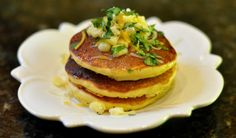 Corn and Green Chile Pancakes