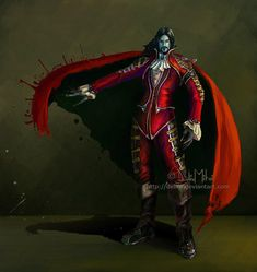 A concept of Vlad I started last year and now I redraw it. Hope you like it Vlad Tepes, Dracula concept Dracula, Vlad The Impaler, Black Spider, Creatures Of The Night, Mythological Creatures, Art Google, Mythology, Supernatural, Concept Art